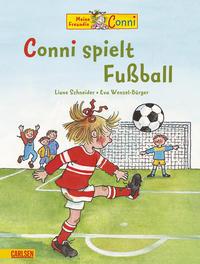 Coverbild Conni spielt Fußball