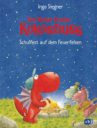 Coverbild Der kleine Drache Kokosnuss - Schulfest auf dem Feuerfelsen