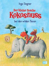 Coverbild Der kleine Drache Kokosnuss bei den wilden Tieren