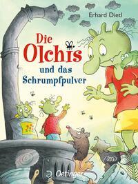 Coverbild Die Olchis und das Schrumpfpulver